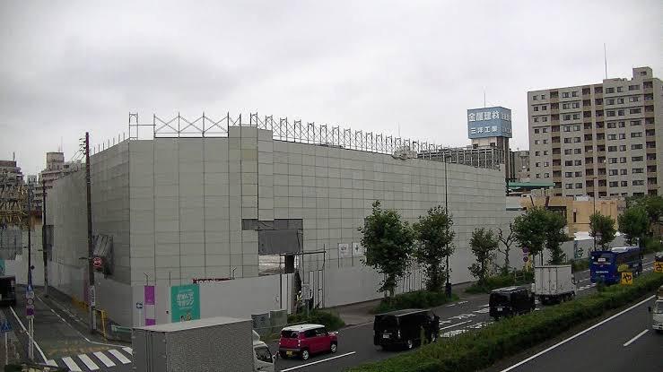 亀戸サンストリート解体工事2